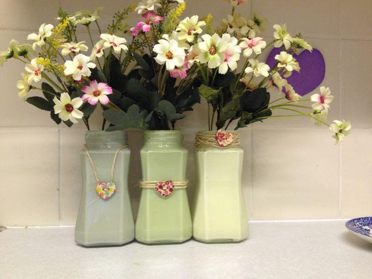 My #Nescafé jars we don't have #masonjars in UK