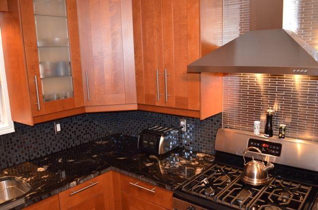 Kitchen Backsplash For Polished Granite