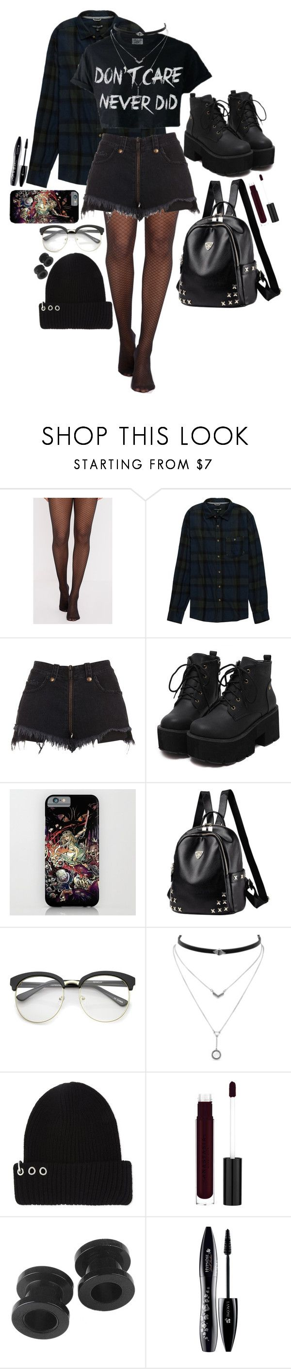 """Happy New Year!⛇"" by twocigarettes ❤ liked on Polyvore featuring Ocean Current, Unravel, ZeroUV, Jessica Simpson, Musium and Lancôme"