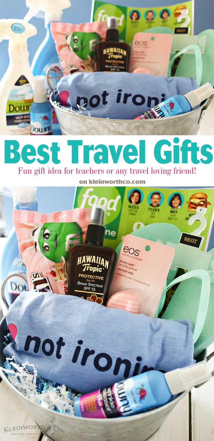 We're getting closer to travel season! Here are some fun gifts to give a teacher for Teacher Appreciation Day or to a travel loving friend!