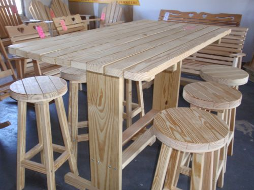 25 Best Images About Rustic Decks And Furniture On