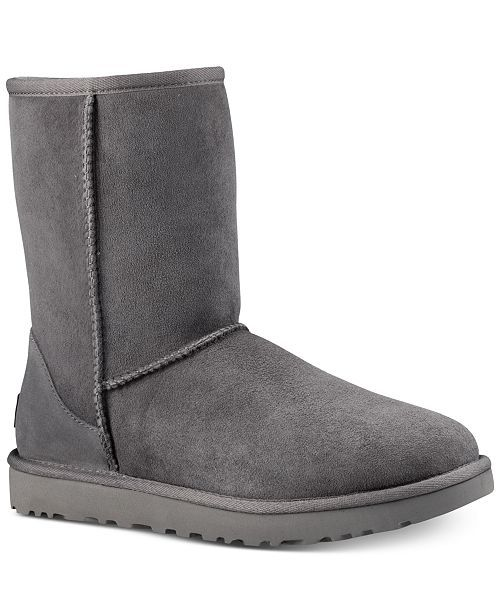 8d597976ca2 Ugg Women's Classic Ii Genuine Shearling Lined Short Boots - Sand in ...