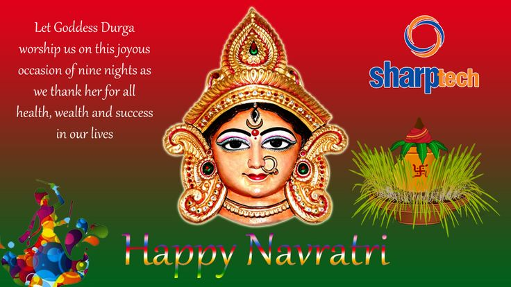 With Best Compliments from our team, We wish all a Very Happy Navratri.