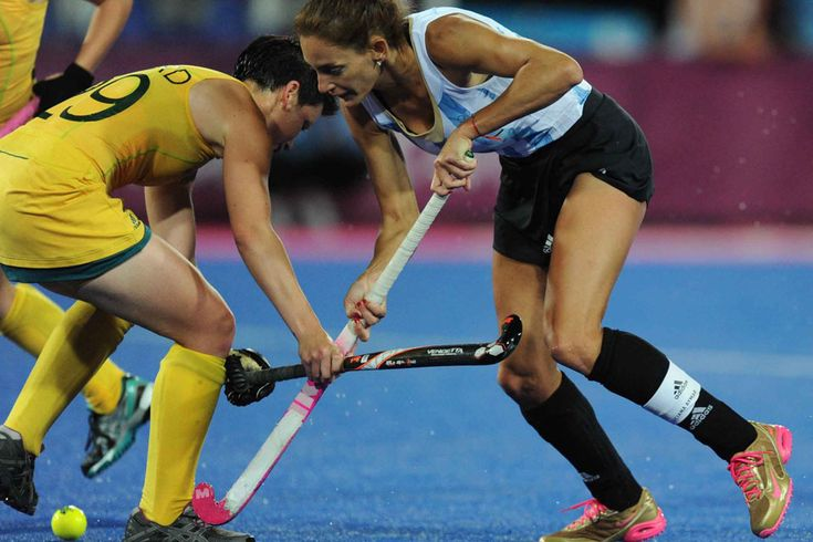 """""""Luciana Aymar es como Messi"""" Field Hockey, Female Athletes, Messi, Draw, Running, Motivation, Sports, Life, Olympic Games"""