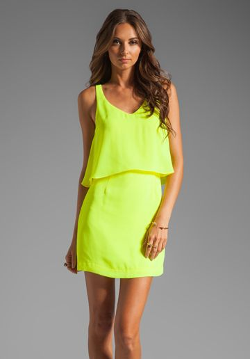 DOLCE VITA Mollas Dress in Yellow at Revolve Clothing