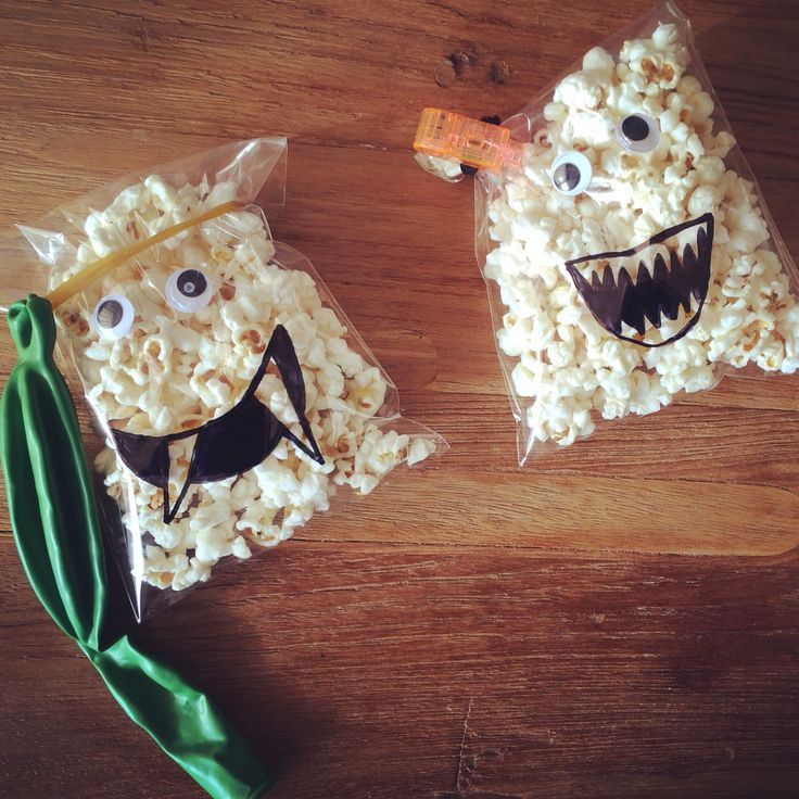 Popcorn-monsters!