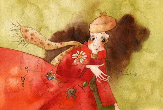 Красное пальто (Виктория Кирдий)