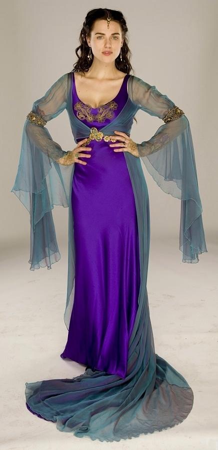 Costume d'inspiration médiévale