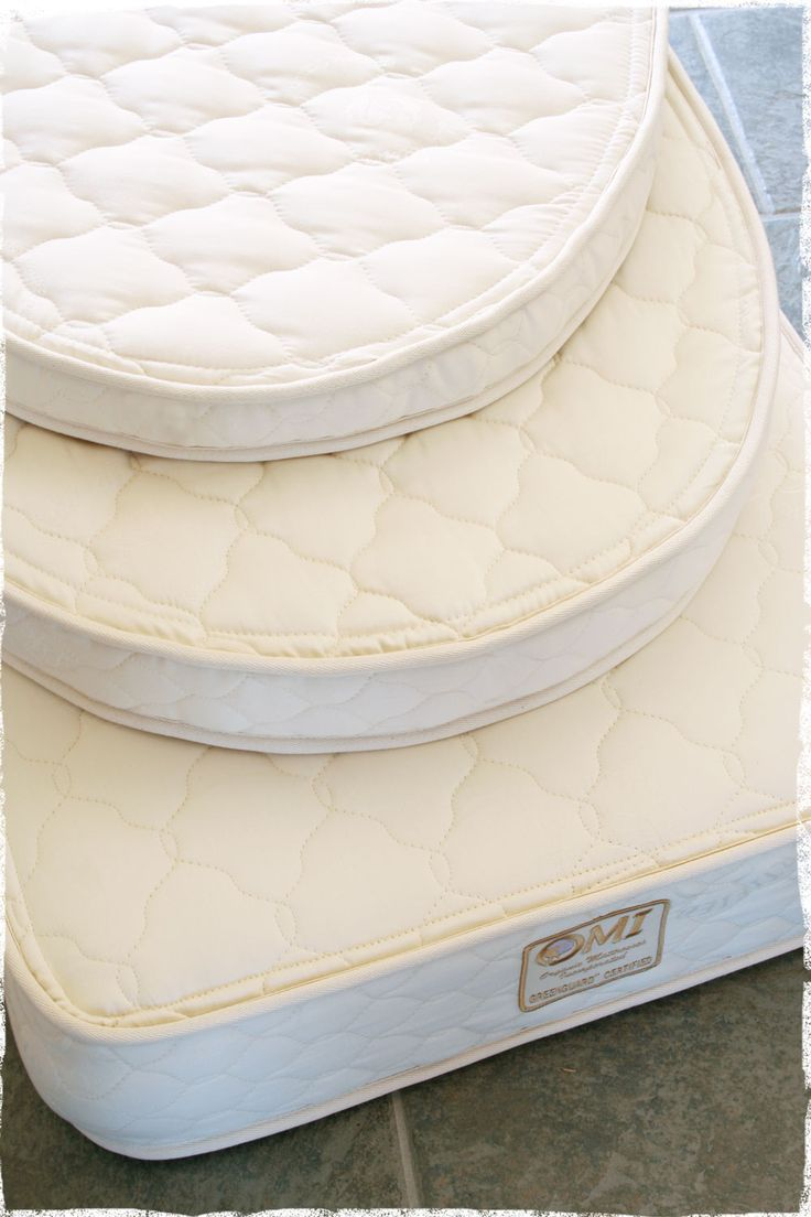 Certified Organic Crib Mattresses We Offer Innerspring Natural Rubber And Oval Bassinet Mats