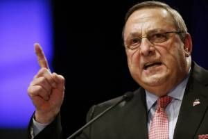 """Maine's GOP governor now instructing citizens to """"load up and get rid of the drug dealers""""  So, if sane people think you are an abomination to humanity, should they be legally allowed to buy guns and shoot you?  ~snark~"""