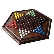 Chinese Checkers jeux en bois comme cadeaux bombay.ca dés, cartes, cribbage (39$)