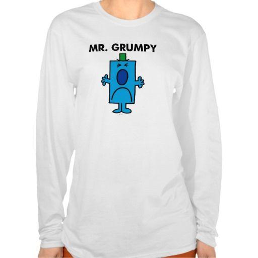 Mr Grumpy Classic Tees (more styles available) #cartoon #shirt #cartoonshirt