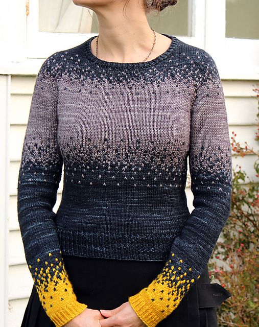 Pixelated Pullover pattern by Jennifer Beaumont on Ravelry