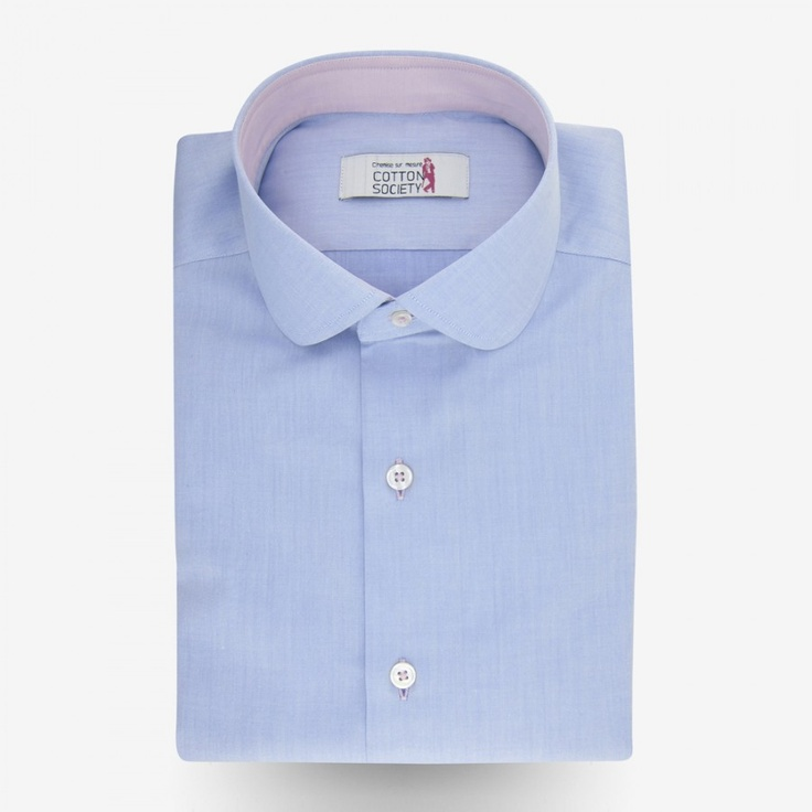 Love the round collar men shirt bespoke my fashion for Round collar shirt men
