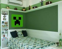 Adesivo Creeper Minecraft