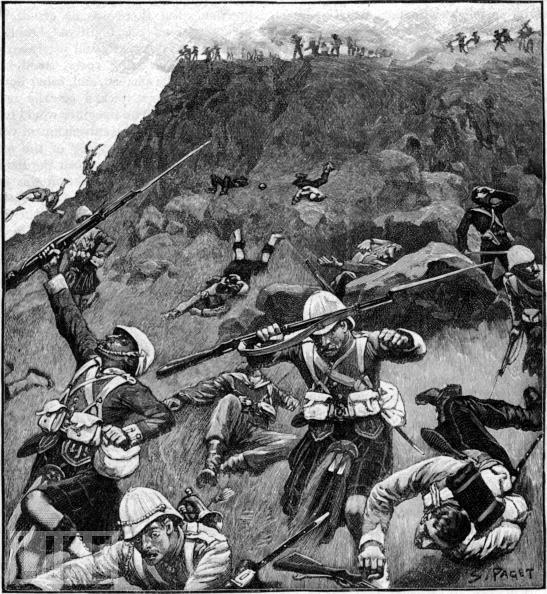 Slag van Majuba was laaste van 4 militêre botsings tussen Brittanje en Boere van Transvaal gedurende 1steVryheidsoorlog (12/1880- 03/1881.Dit het op 27/2/1881 plaasgevind.Die vernederende oorwinning wat die Boere behaal het, het die Britte gedwing om Transvaal weer vryheid te gee, nadat dit op 12/04/1877 geannekseer is (verbreking Sandrivier Konvensie).Die Britte sneuwel 92, 134 gewond, 59 gevang.1 Boer (H. Bekker) sneuwel ('n 2de, J. Groenewald, het later aan wonde beswyk) en 6 ander gewond