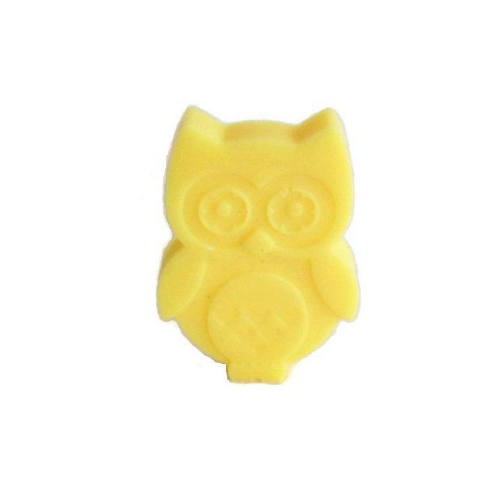 Fondant Brûle Parfum Verveine Citron Chouettes Hiboux Cire Végétale Naturelle Parfum d'ambiance : Luminaires par bougies-parfumees-fleur-artifice