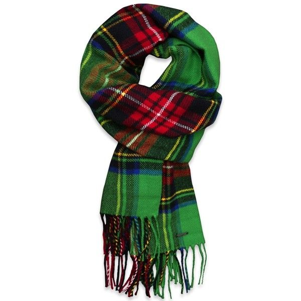Abercrombie & Fitch Classic Plaid Scarf (75 BRL) ❤ liked on Polyvore featuring accessories, scarves, christmas, green, fringe shawl, colorful scarves, tartan plaid scarves, green scarves and tartan scarves