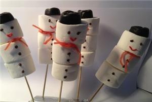 Lekker sneeuwmannetje - Knutseltips & recepten