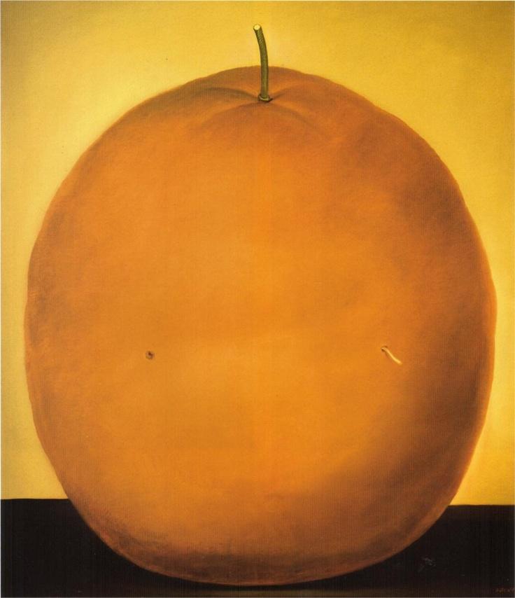 Fernando Botero · Orange, 1977