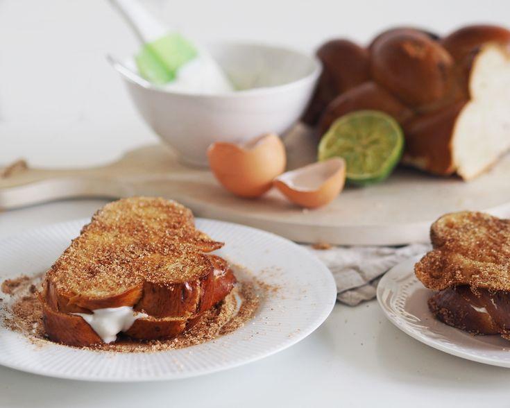 Reb's kitchen: stuffed french toast. breakfast idea from www.fresshion.com