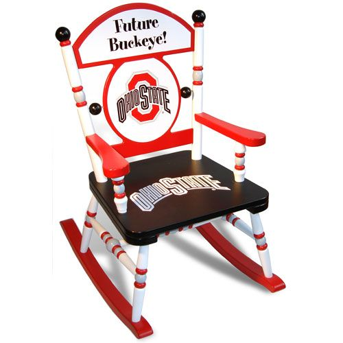 Ohio State counch | Ohio State University Rocking Chair and Luxury Kid Furnishings ...