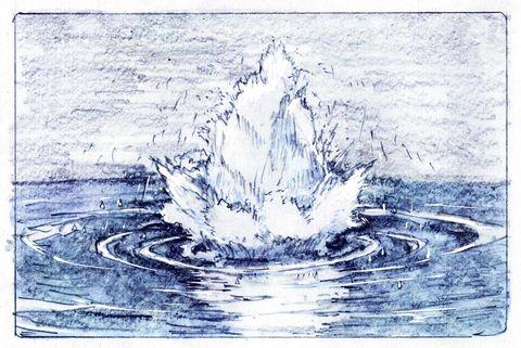 「爆発等エフェクト落書きまとめ22枚」/「さきの新月」の漫画 [pixiv]