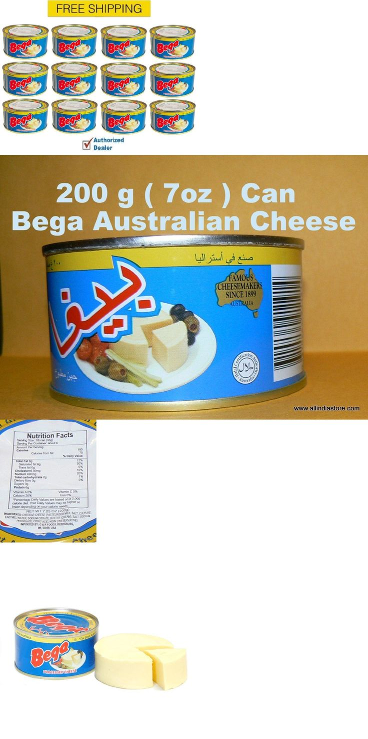 Cheese 62706: New 12 Cans Of Bega Cheese, 200G 7Oz, Real Cheese In A Can Free And Fast Shipping -> BUY IT NOW ONLY: $60 on eBay!