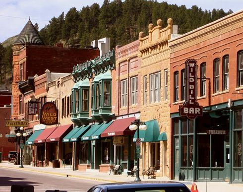 And you HAVE to visit Deadwood, South Dakota when you're in the Black Hills!  It's rich with history - saloons, casino's and the gateway to Lead!