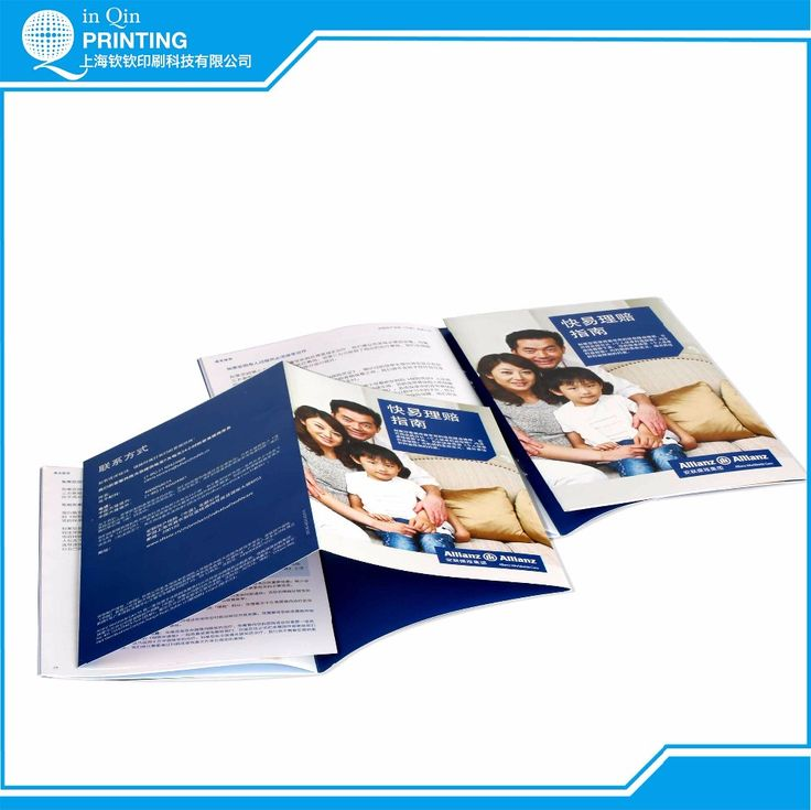 Art paper matte lamination foldable booklets printing