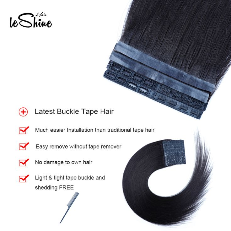 2019 Latest Brazilian Human Hair Extension Buckle …
