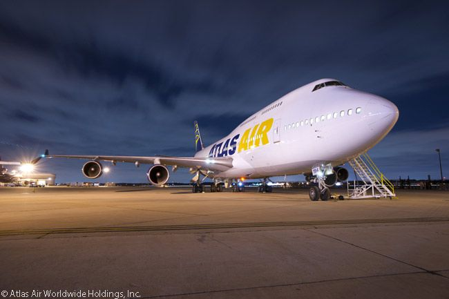 Atlas Air Is Approved to Operate U.S. Military Passenger Charters
