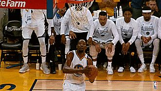kevin durant with that DUNK
