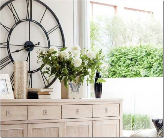 modern country style blog modern country loves big wall clocks
