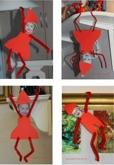 kravlenisser fra min blog agnesingersen.dk/… – Christmas,Weihnachten, kids craft,Kinderb…