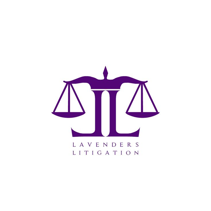 Lavenders Litigation #LogoDesign #GraphicDesign #Branding #Design #Logo #Creative #Art