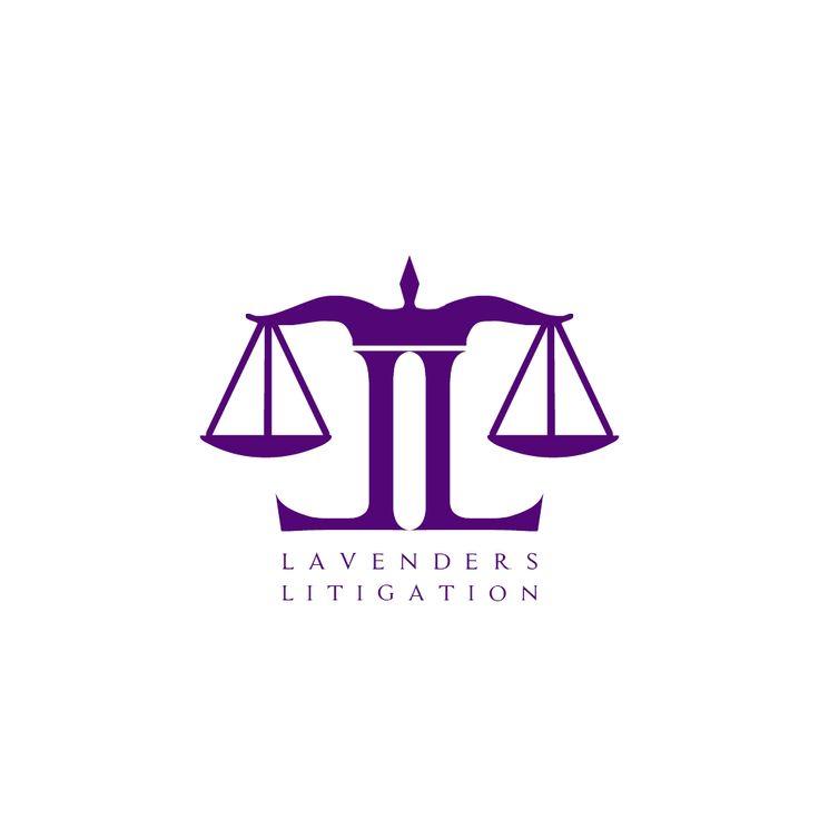 Lavenders Litigation #LogoDesign #GraphicDesign #Branding #Design #Logo #Creative #Art