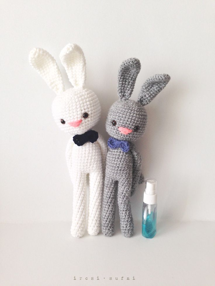 Hungarian Easter tradition :)  #crochet #crochettoy #bunny #toy