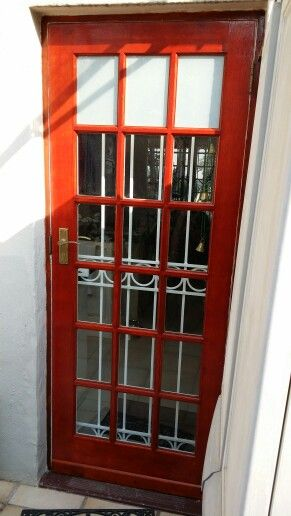Cottage Pane Door - Frosted glass