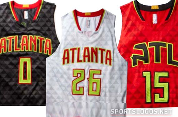Atlanta Hawks New Uniforms Unveiled: Red, Black, and Neon Green ...