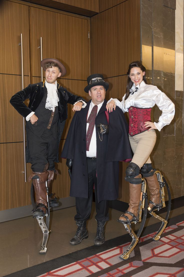 Steampunk Circus Gala Dinner Entertainers.