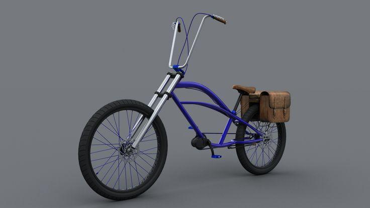 Final render - Peddle power electric bikes