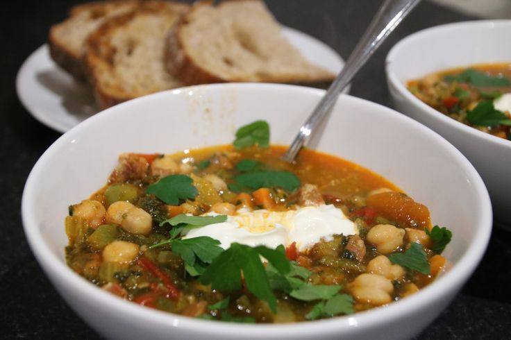 ... the bowl spanish chickpea and chorizo soup more spanish chickpea
