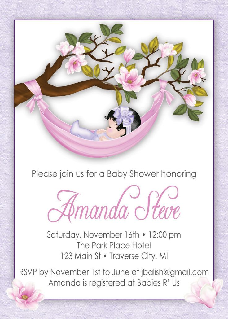 Unique Baby Shower Invitations For Girl