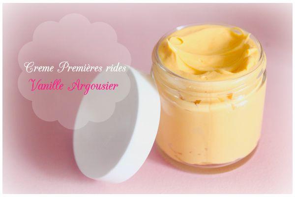 DIY Crème Anti-âge Vanille Argousier   http://www.mamzelleemie.com