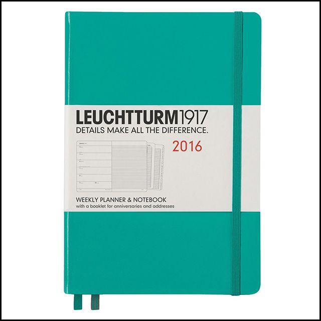 Leuchtturm1917 2016 Planner + Notebook, $24.95