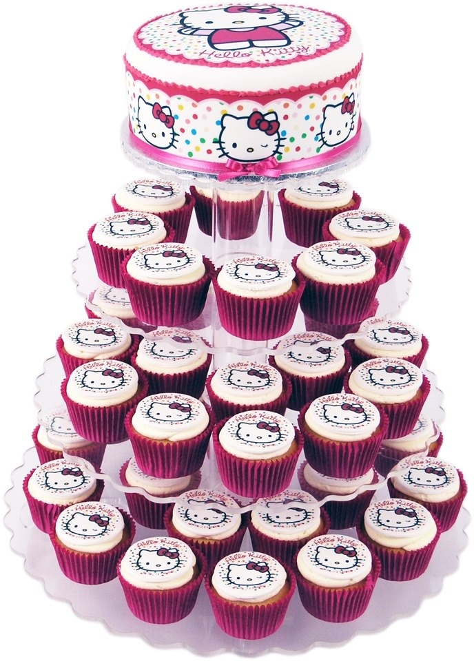 8 best Cupcakes images on Pinterest Hello kitty cupcakes Kitty