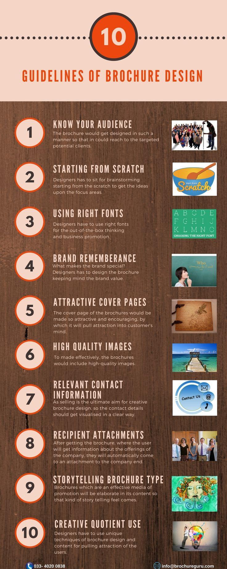 Best Brochure Design Images On   Brochures Company
