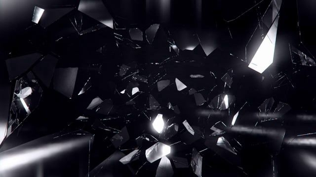 tried to create a slow-motion glass shattering effect for a music video. A few glitches, but kind of cool. Built in Lightwave 3D 11.6, graded in After Effects with Colorista and MB looks.  If anyone wants it, I'll upload the source files up too.