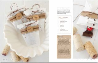 Coffee Filter Treat Bags from Green Craft Magazine Spring 2014 issue #crafts #greencraft
